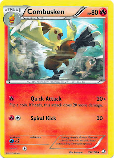 Combusken Primal Clash Pokemon Card