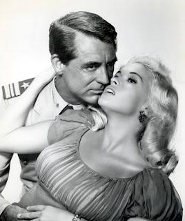 Parejas de cine Cary Grant y Jayne Mansfield