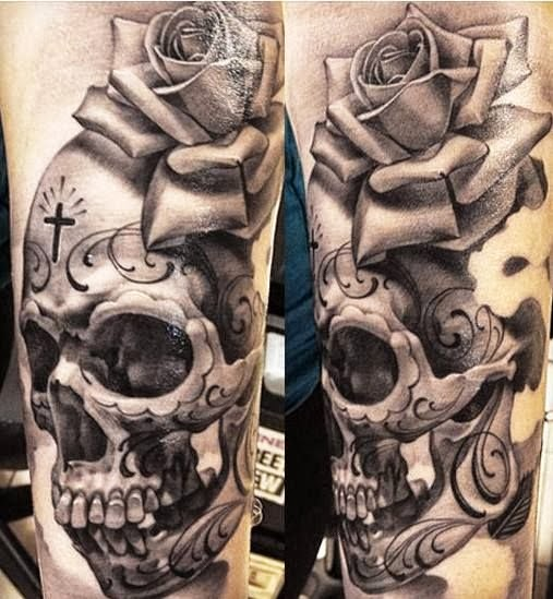skull abstract tattoo abstract skull tattoo abstract skull tattoo by ...