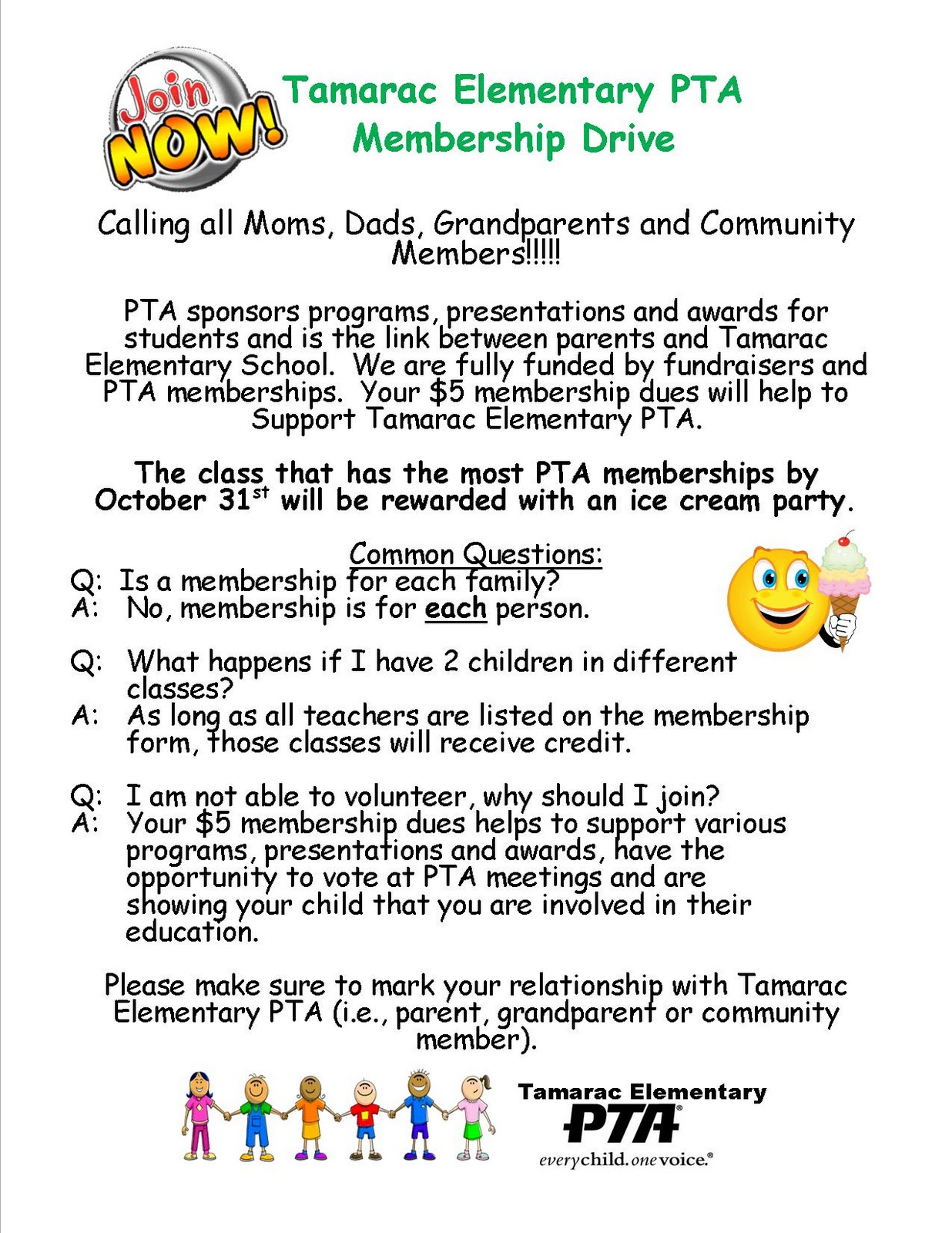Pta Welcome Letter Sample
