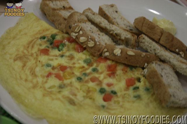 joan's special omelette