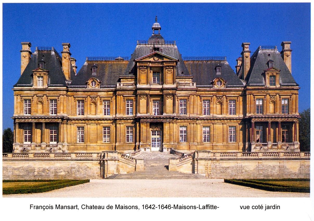 C histoire des arts5e for Architecte maisons laffitte
