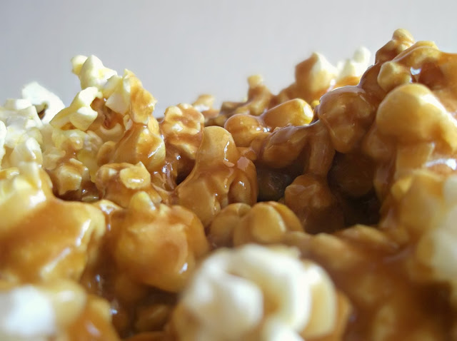 how to make caramel popcorn balls without corn syrup