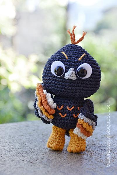Amigurumi Owl Wings : Tac the owl - new amigurumi pattern! Airali