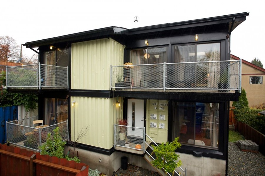 Shipping Container Homes March 2012
