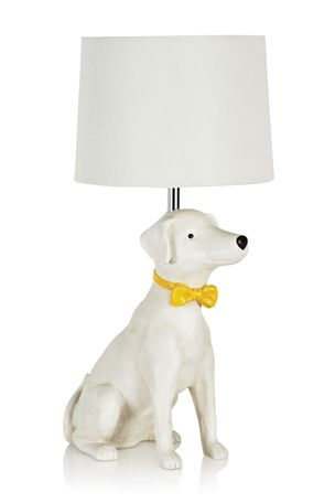 Next bow tie dog lamp