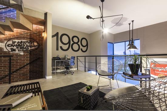 Podio city loft por s1 dise o arquitectos for Busco arquitecto