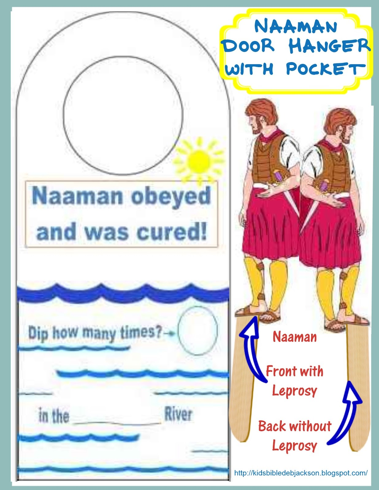 naaman and gehazi coloring pages - photo #38