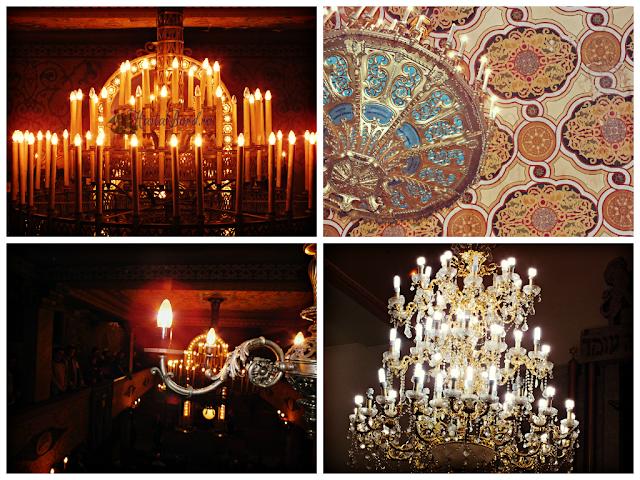 candelabre sinagogi bucuresti
