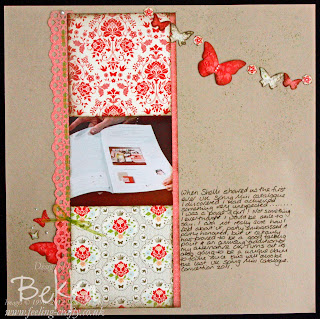 Everyday Enchantment Scrapbook Page by Bekka www.feeling-crafty.co.uk