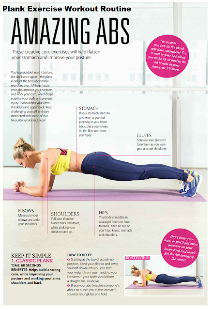 Classic Plank Exercise