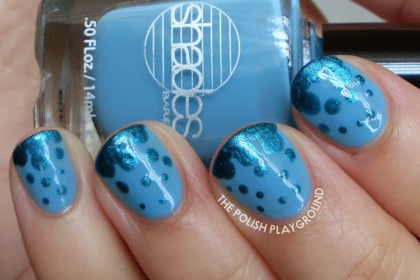 Blue Dotted Gradient