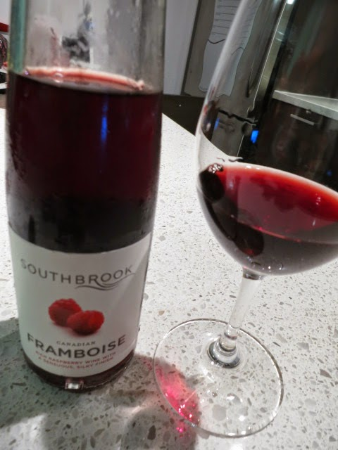 Wine Review of Southbrook Framboise from Ontario, Canada