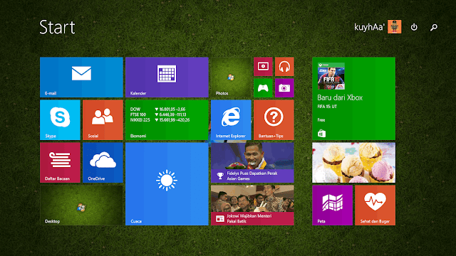 Cara Enable Start Screen Windows 10