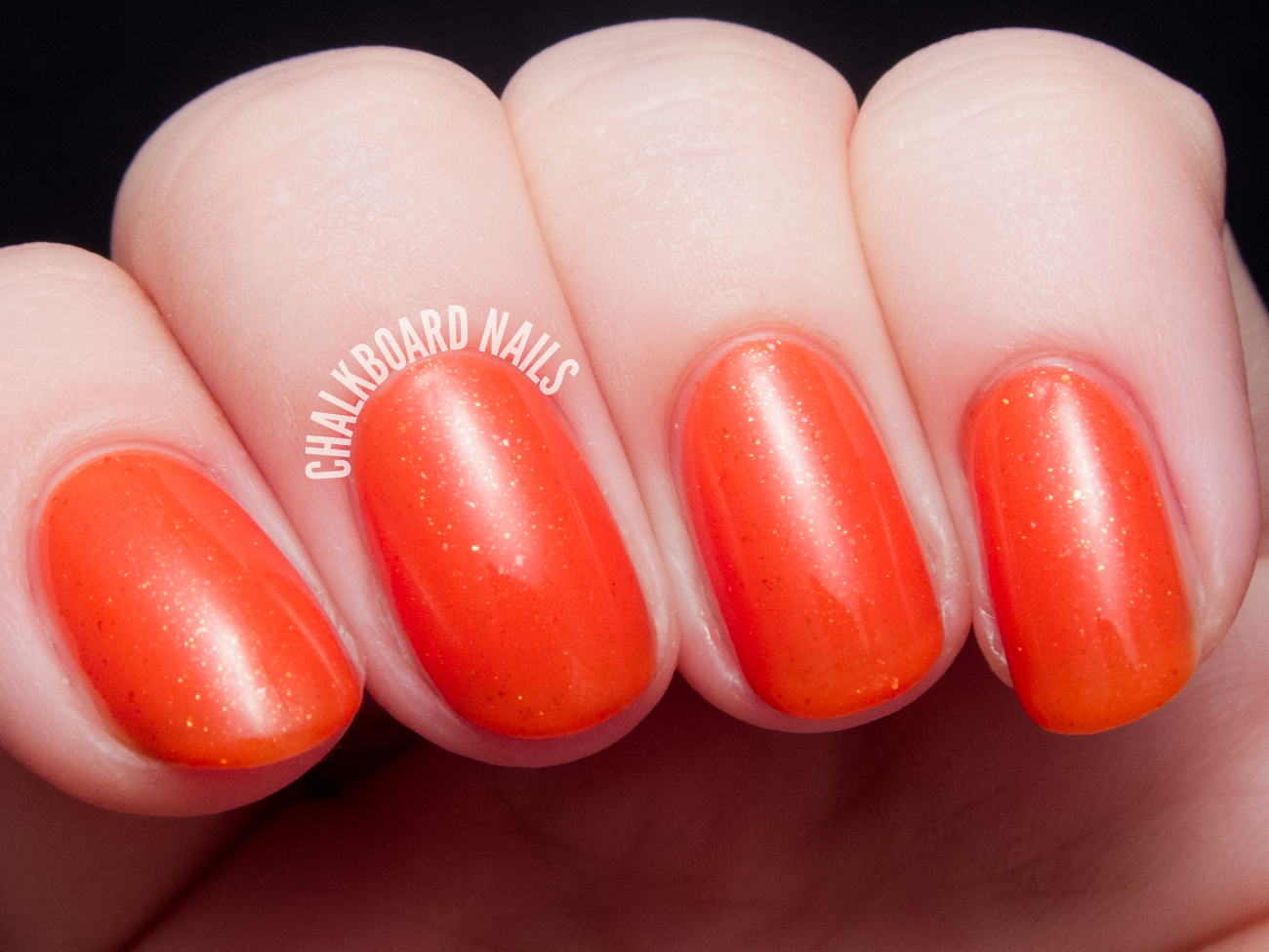 Contrary Polish Valencia Orange via @chalkboardnails
