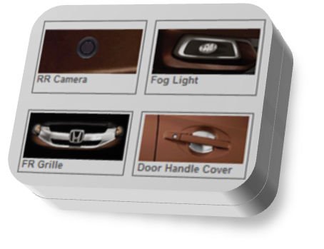 Mobilio E-CVT Prestige Exterior Accessories