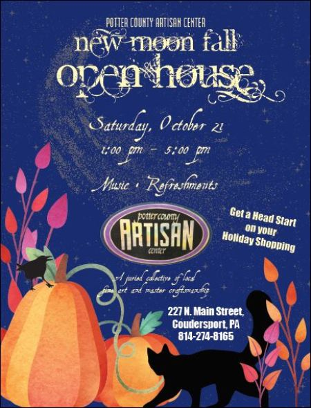 10-21 New Moon Fall Open House, Coudersport