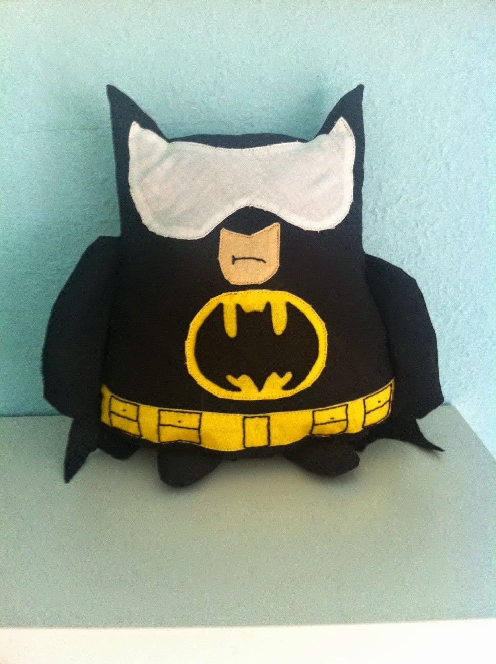 Nerdy Crafts: Batman-Plüsch