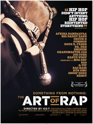 ICE -T's The Art Of Rap Poster