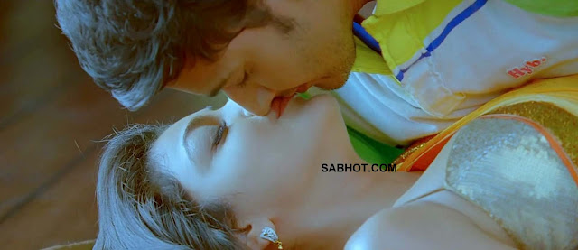 Kajal Lip To Lip Kiss
