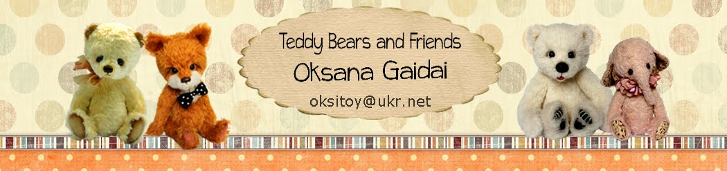 Teddy Bears and Friends by Oksana Gaidai