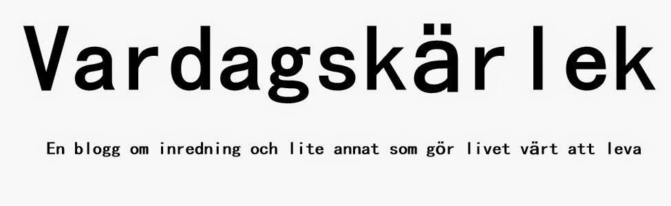 VARDAGSKÄRLEK