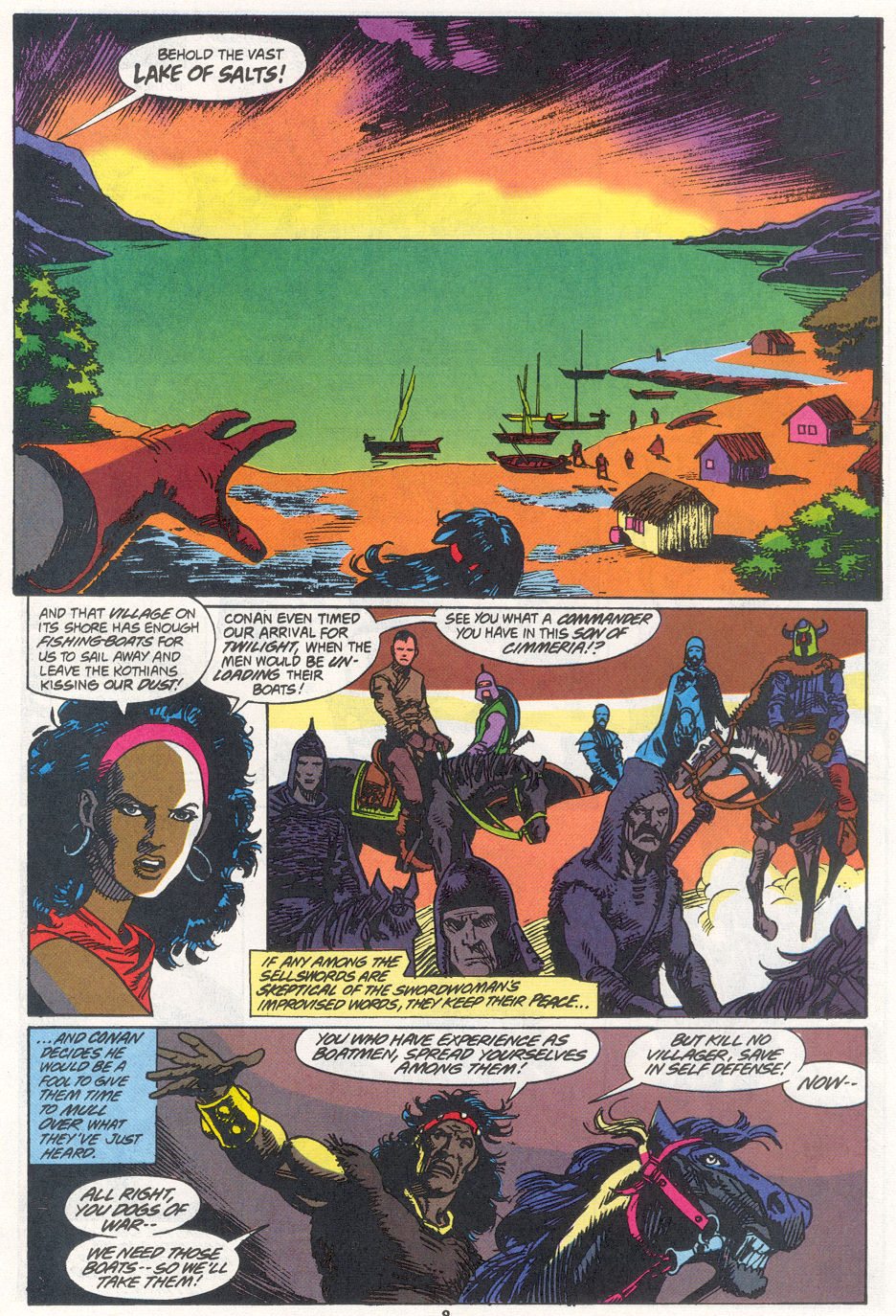 Conan the Barbarian (1970) Issue #270 #282 - English 7