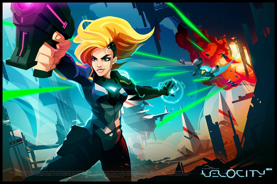 Velocity 2X PC Download Poster