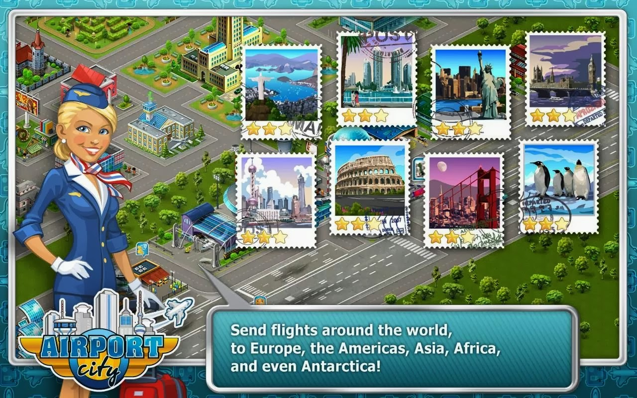 Airport City APK Android Mod [Unlimited Oil/Coins e Money] Download
