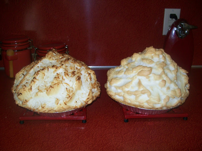 Coconut & Chocolate Pies