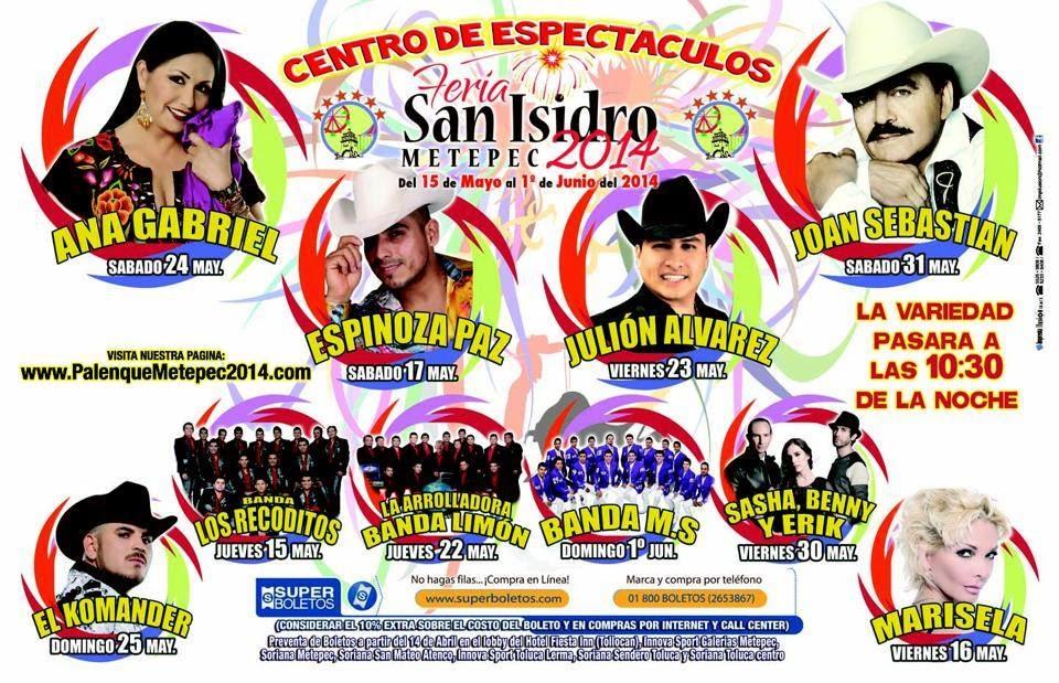 Feria Metepec 2014 Palenque