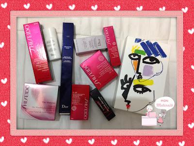 maquiagens shiseido dior mac mon maternité