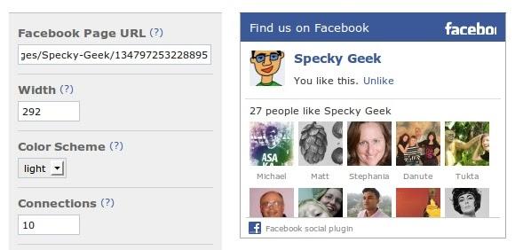 comment ajouter like facebook blogger