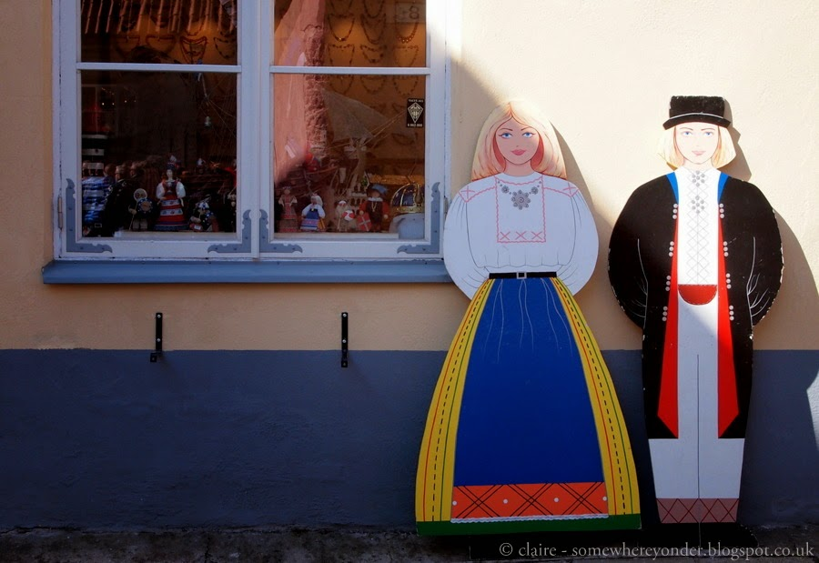 shop window, Old Town Tallinn - Estonia