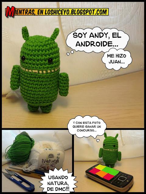 Andy, Android, Amigurumi, loshiceyo
