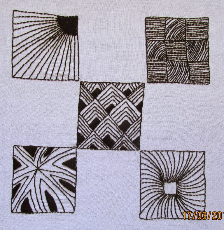 My craft works zentangle pattern quilling