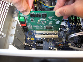 installation of sound card