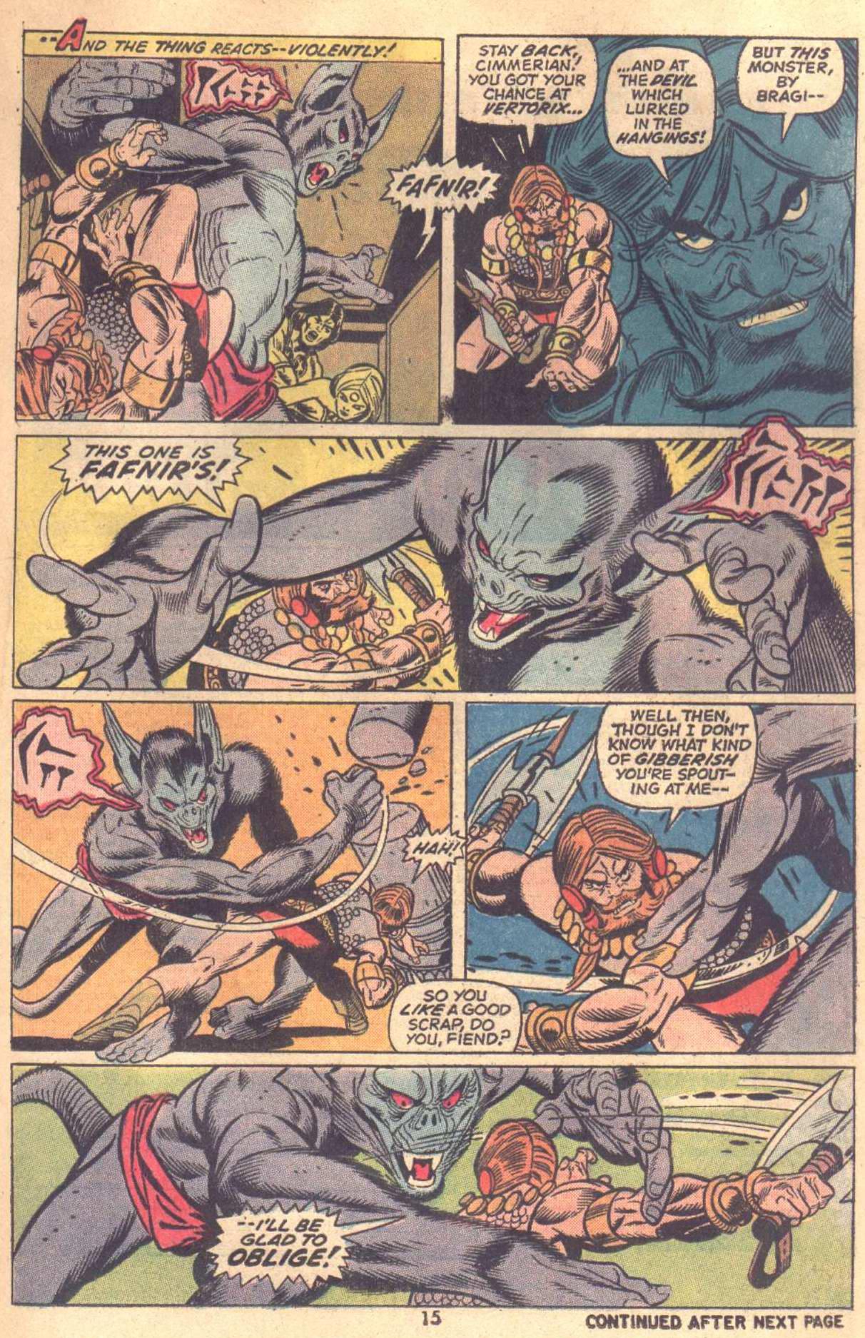 Conan the Barbarian (1970) Issue #18 #30 - English 12