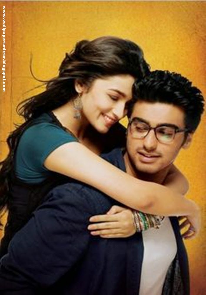Alia Bhatt and Arjun Kapoor with beautiful Background HD wallpapers