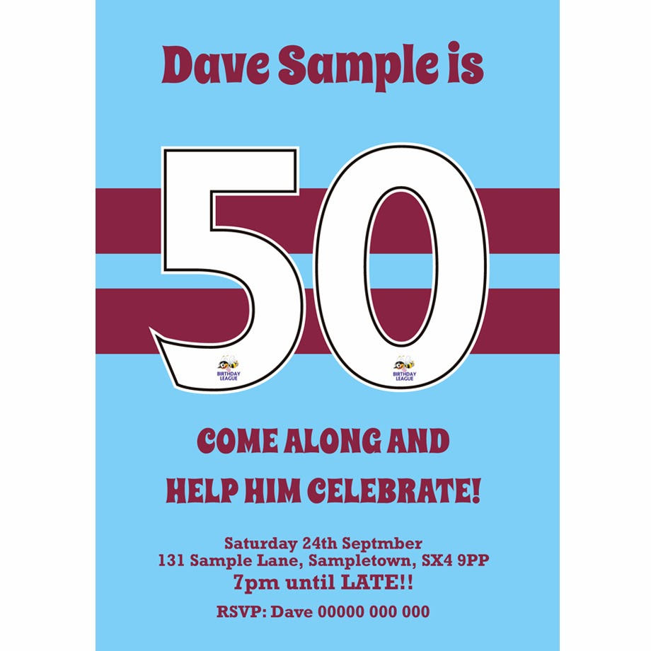 http://www.buzzinvites.com/product/personalised-classic-west-ham-football-birthday-invites/