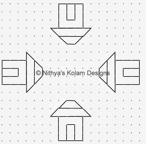 Pongal Paanai and house Kolam