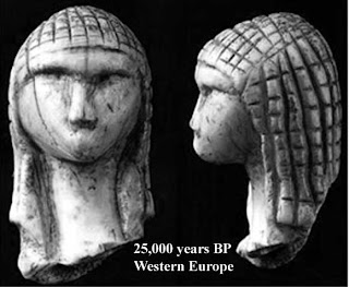 25,000 BP Western Europe