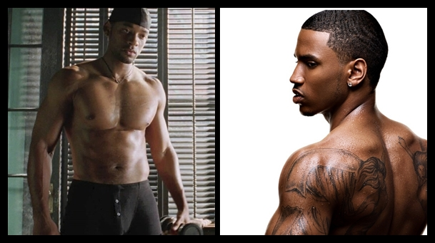 Will Smith and Trey Songz Gay Hook Up?