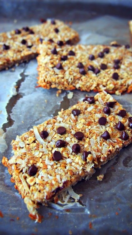 Back to school healthy granola bars