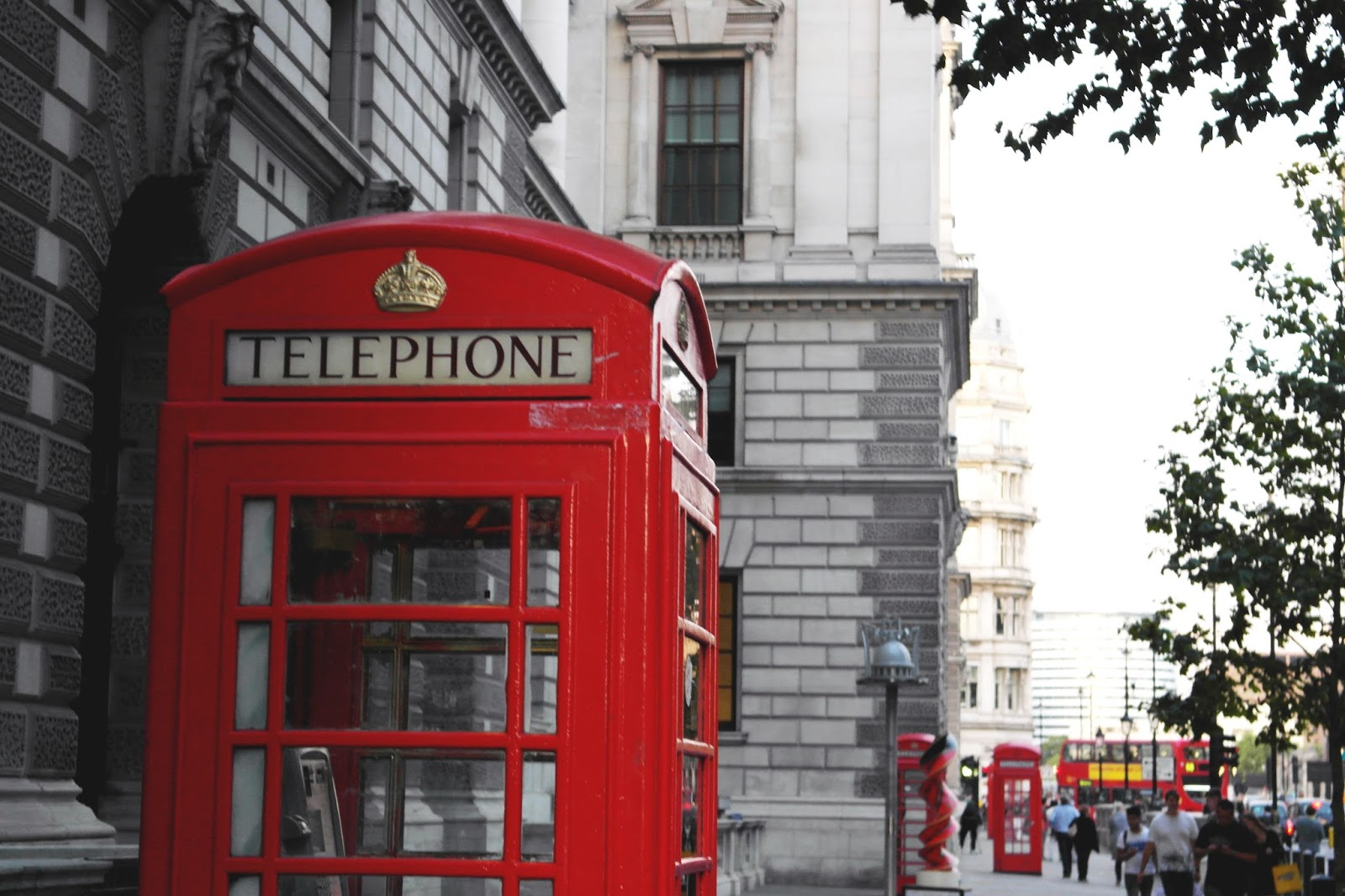 London Red Telephone Box
