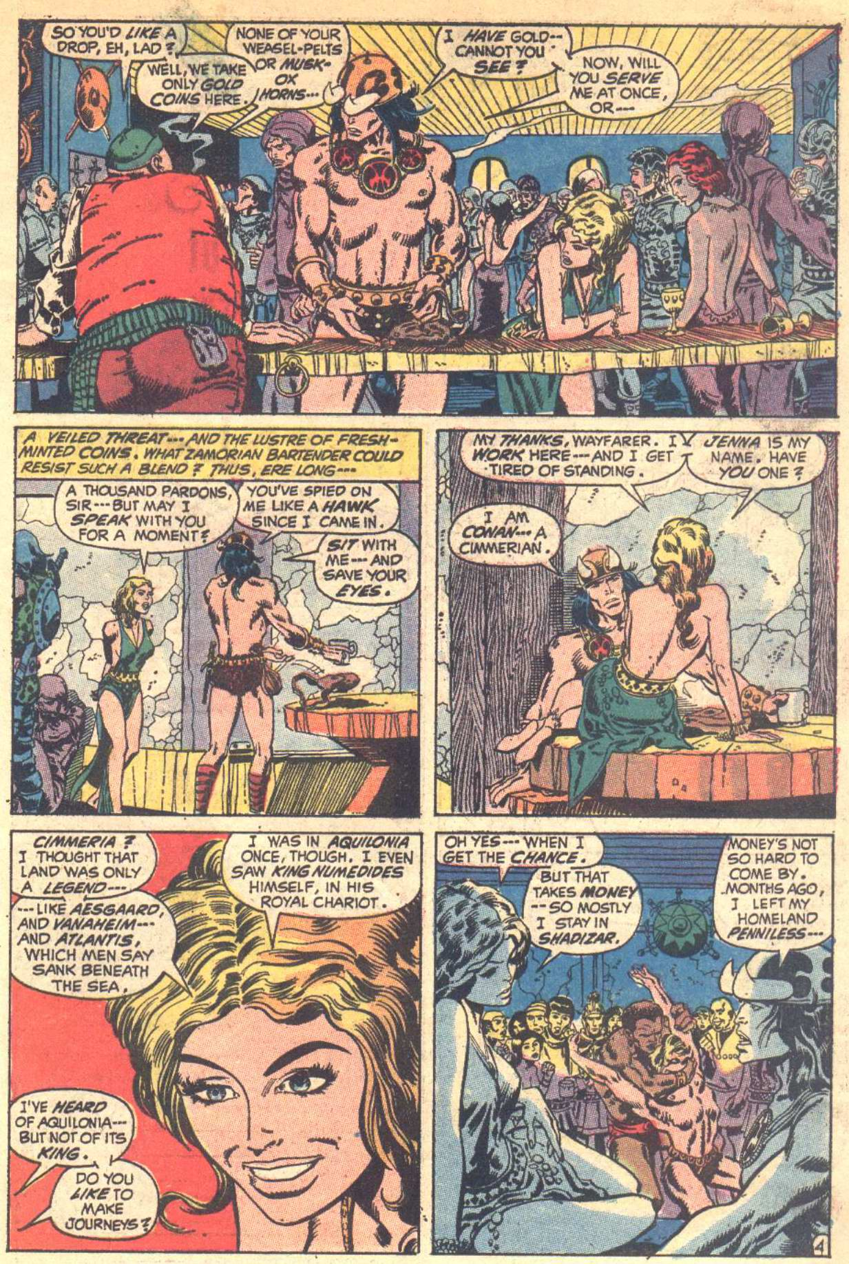 Conan the Barbarian (1970) Issue #6 #18 - English 5