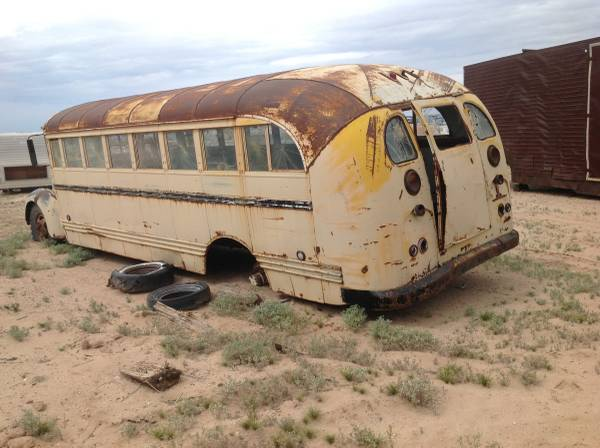 Restoration Project Cars: 1941 International School Bus ...