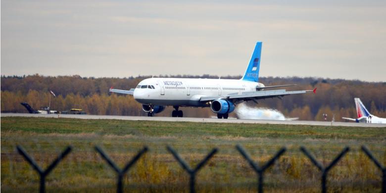 Pesawat Rusia Airbus A321 Jatuh di Mesir