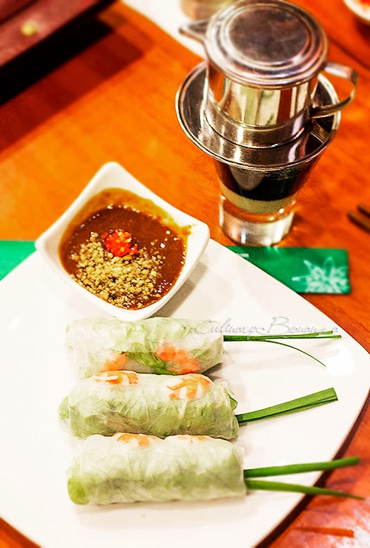 Goi Cuon Chay - Vietnamese summer roll with vegetarian filling