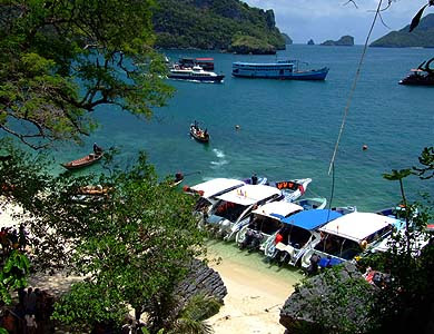 Trip to Angthong National Marine Park